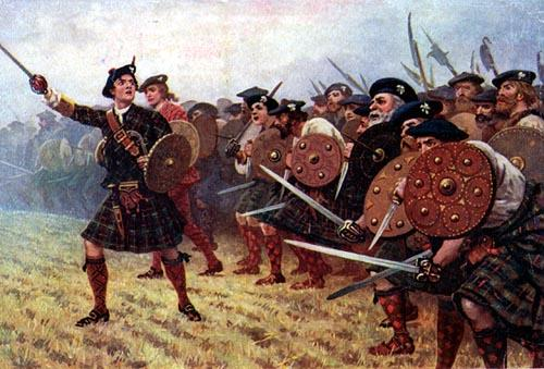The jacobite rebellion battle of culloden 1746